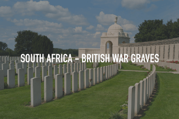 Commonwealth War Graves Commission - British War Graves in South Africa cleaned with ThermaTech
